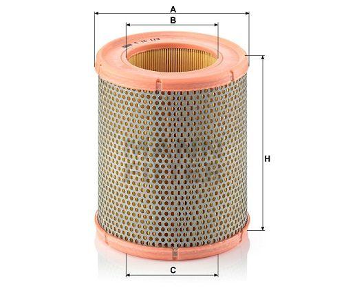 Vzduchový filtr Mann-Filter C 16 113