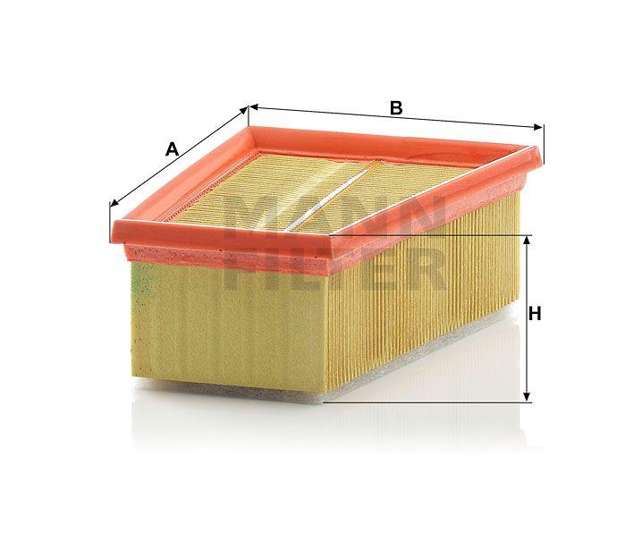 Vzduchový filtr Mann-Filter C 1858/2