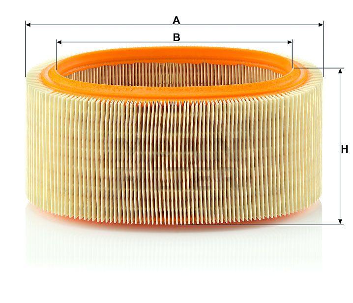 Vzduchový filtr Mann-Filter C 2281
