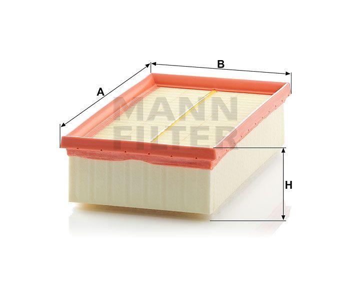 Vzduchový filtr Mann-Filter C 2485/1