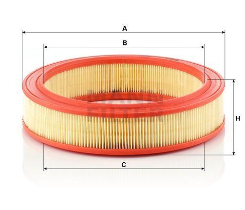 Vzduchový filtr Mann-Filter C 2749