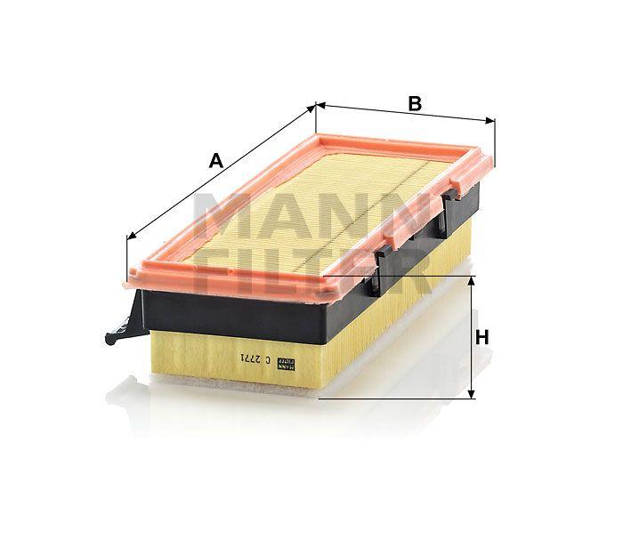 Vzduchový filtr Mann-Filter C 2771