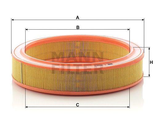 Vzduchový filtr Mann-Filter C 2873/1