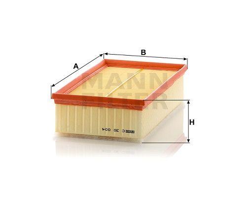 Vzduchový filtr Mann-Filter C 30 004
