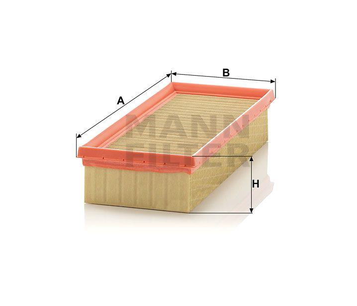 Vzduchový filtr Mann-Filter C 3093