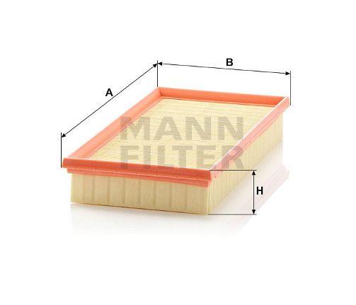 Vzduchový filtr Mann-Filter C 3093/1
