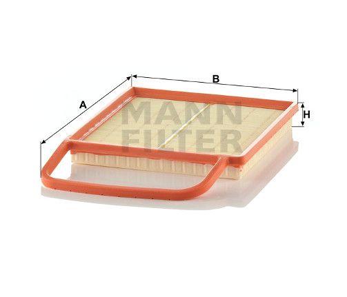 Vzduchový filtr Mann-Filter C 3575