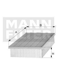 Vzduchový filtr Mann-Filter C 4371/2