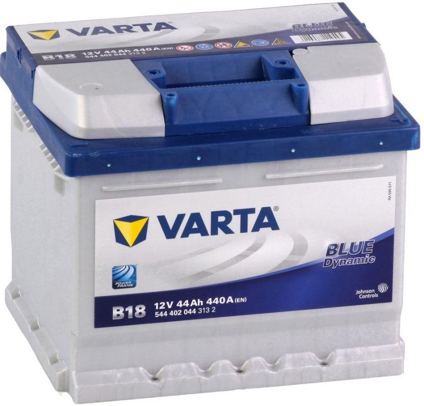 Autobaterie VARTA BLUE Dynamic 44Ah, 12V (B18)