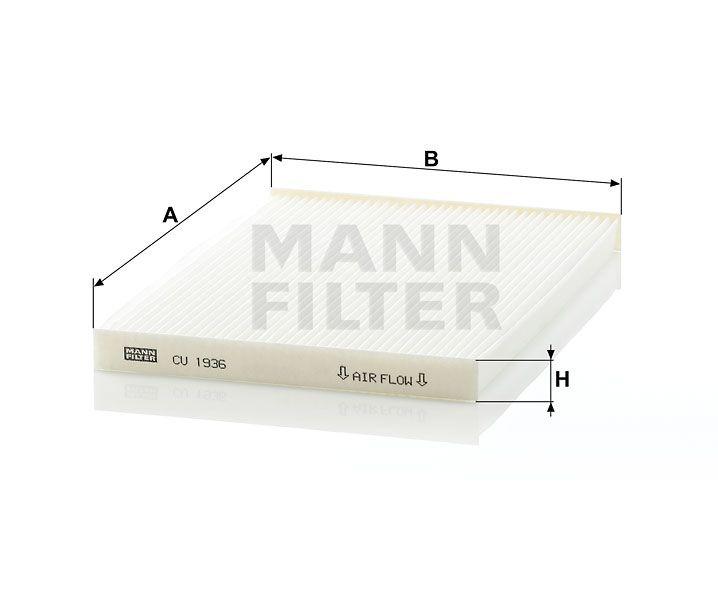 Kabinový filtr Mann-Filter CU 1936