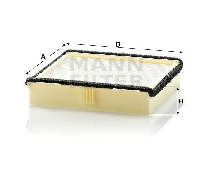 Kabinový filtr Mann-Filter CU 2038