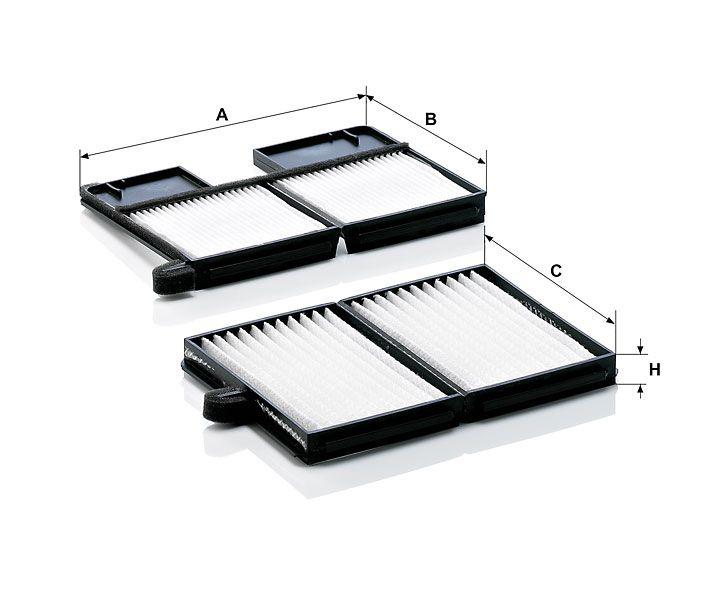 Kabinový filtr Mann-Filter CU 21 001-2