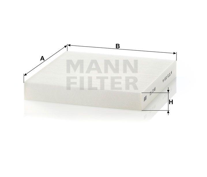Kabinový filtr Mann-Filter CU 2149