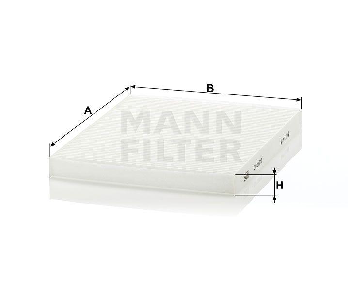 Kabinový filtr Mann Filter CU 23 010 Mann-Filter