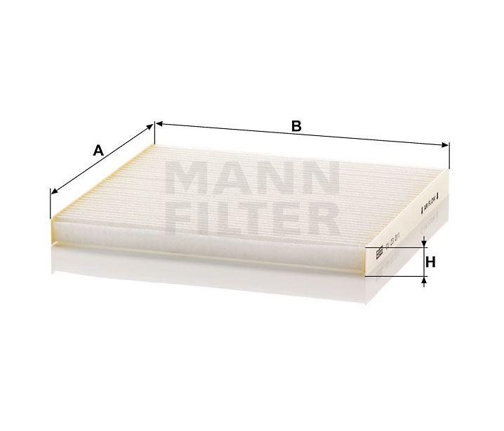 Kabinový filtr Mann-Filter CU 23 011