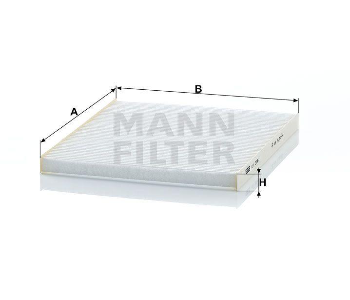 Kabinový filtr Mann Filter CU 2336 Mann-Filter