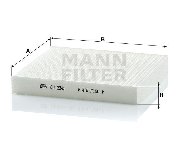 Kabinový filtr Mann-Filter CU 2345
