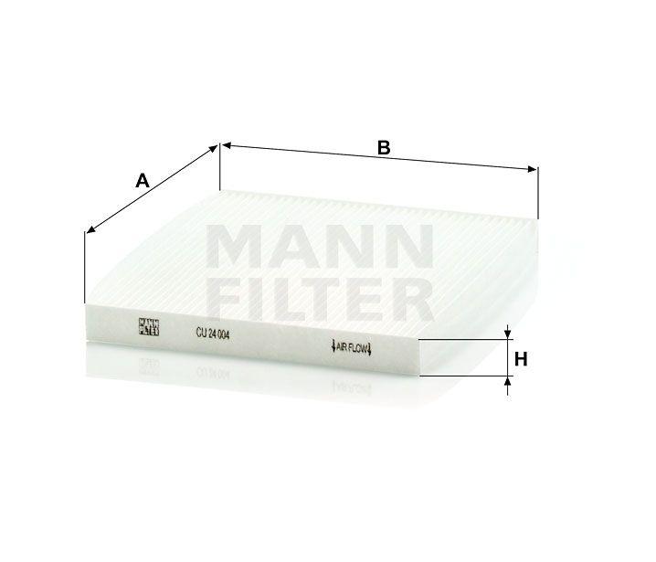 Kabinový filtr Mann-Filter CU 24 004