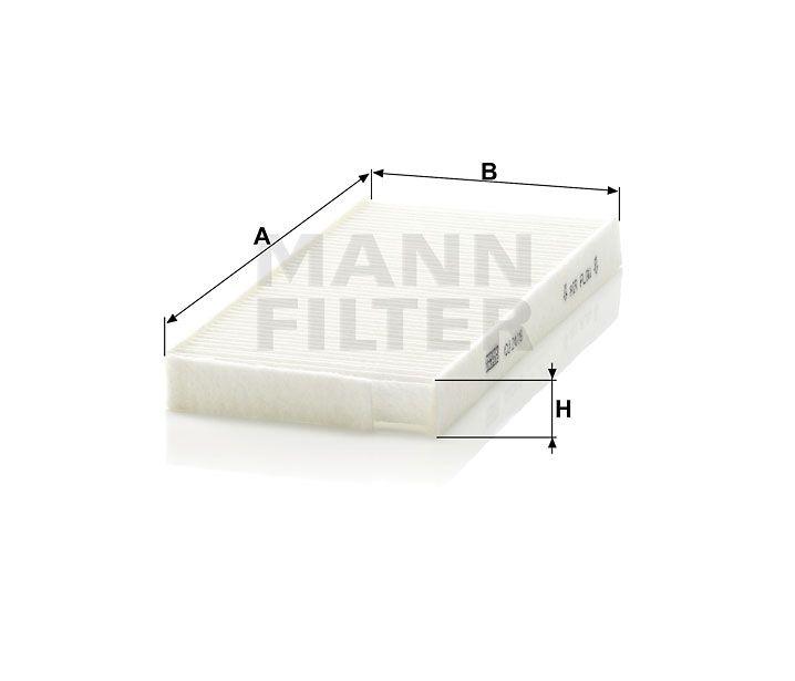 Kabinový filtr Mann-Filter CU 2418-2