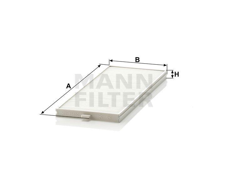 Kabinový filtr Mann-Filter CU 2506-2