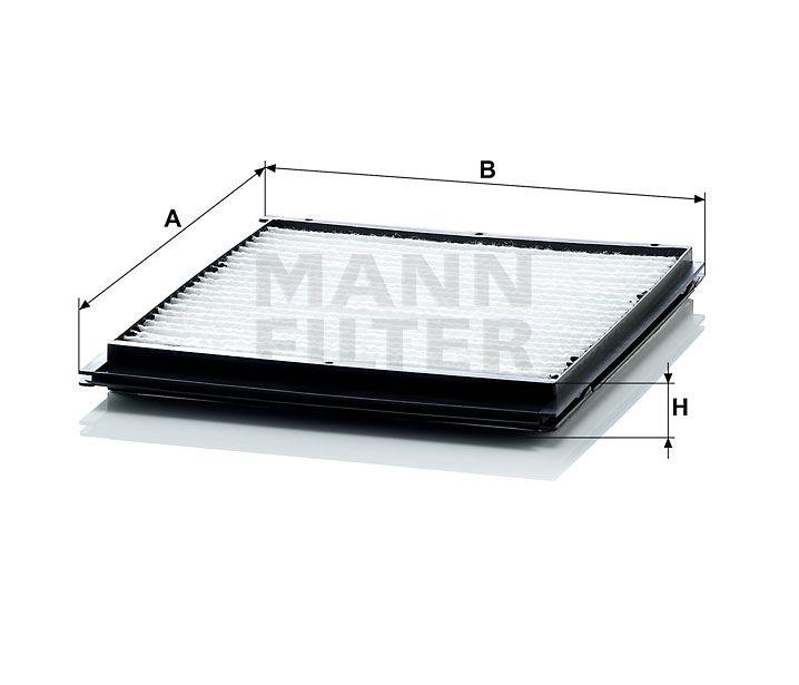 Kabinový filtr Mann-Filter CU 2516