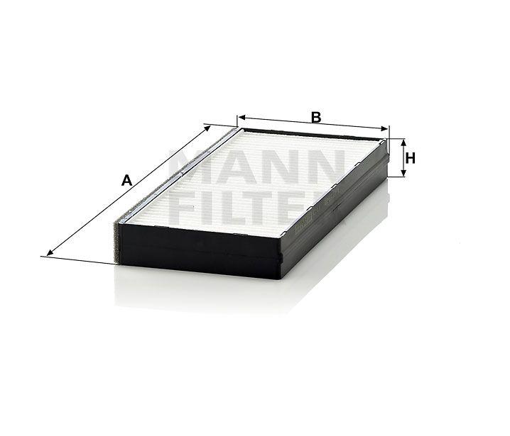 Kabinový filtr Mann Filter CU 2521-2 Mann-Filter