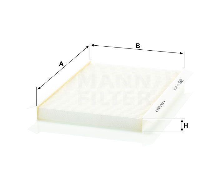 Kabinový filtr Mann Filter CU 2532 Mann-Filter