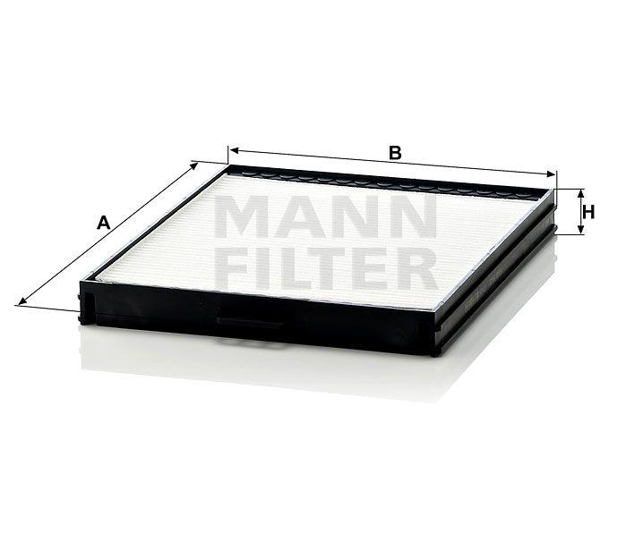 Kabinový filtr Mann Filter CU 2628 Mann-Filter