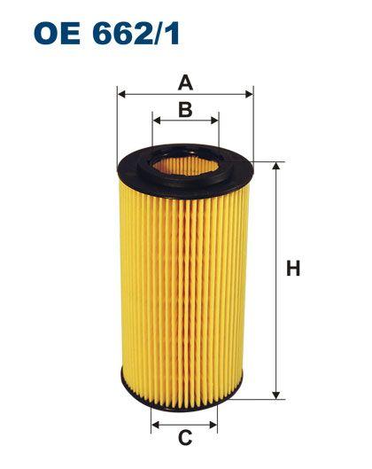 Olejový filtr Filtron OE 662/1