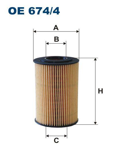 Olejový filtr Filtron OE 674/4
