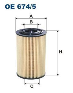 Olejový filtr Filtron OE 674/5