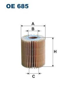 Olejový filtr Filtron OE 685