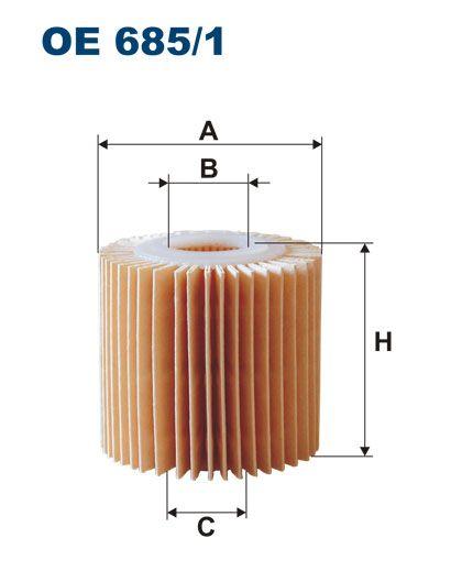 Olejový filtr Filtron OE 685/1 Mann-Filter