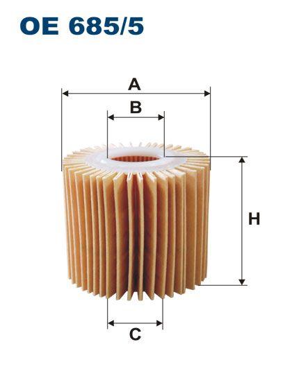 Olejový filtr Filtron OE 685/5