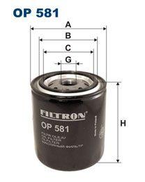 Olejový filtr Filtron OP 581