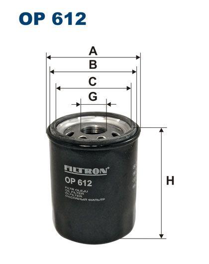 Olejový filtr Filtron OP 612