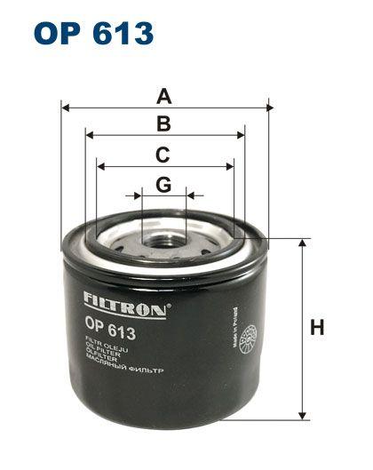 Olejový filtr Filtron OP 613