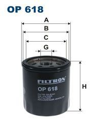 Olejový filtr Filtron OP 618