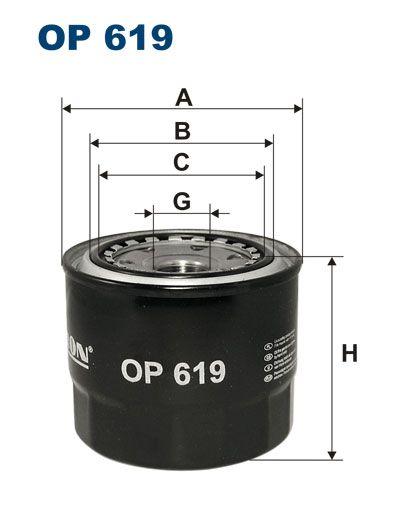 Olejový filtr Filtron OP 619