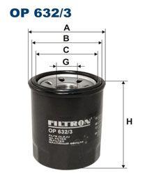 Olejový filtr Filtron OP 632/3
