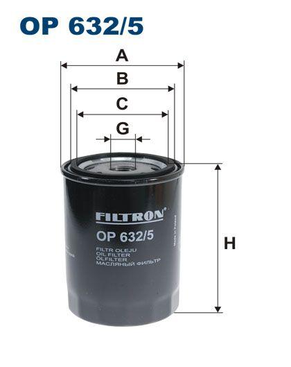 Olejový filtr Filtron OP 632/5