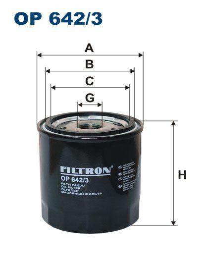 Olejový filtr Filtron OP 642/3