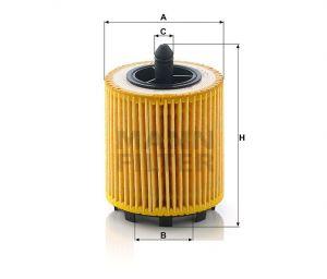 Olejový filtr Mann-Filter HU 6007 x
