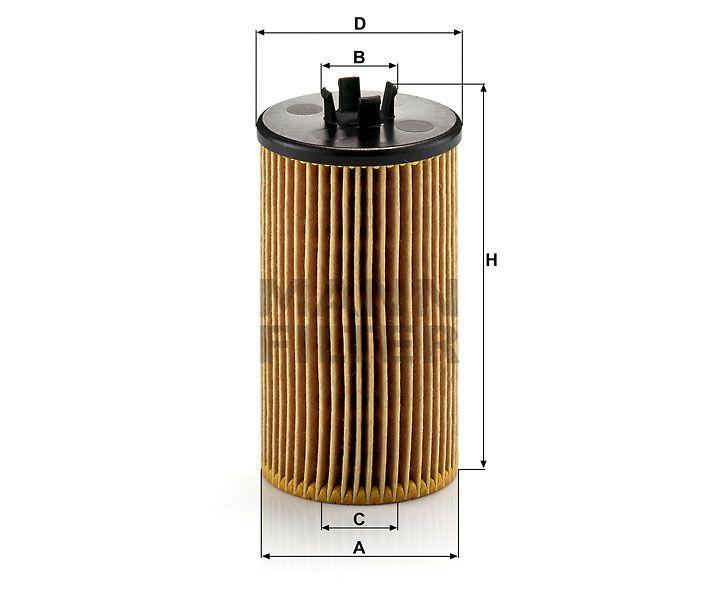 Olejový filtr Mann-Filter HU 612/2x