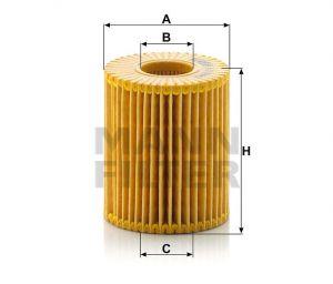 Olejový filtr Mann-Filter HU 7009 z