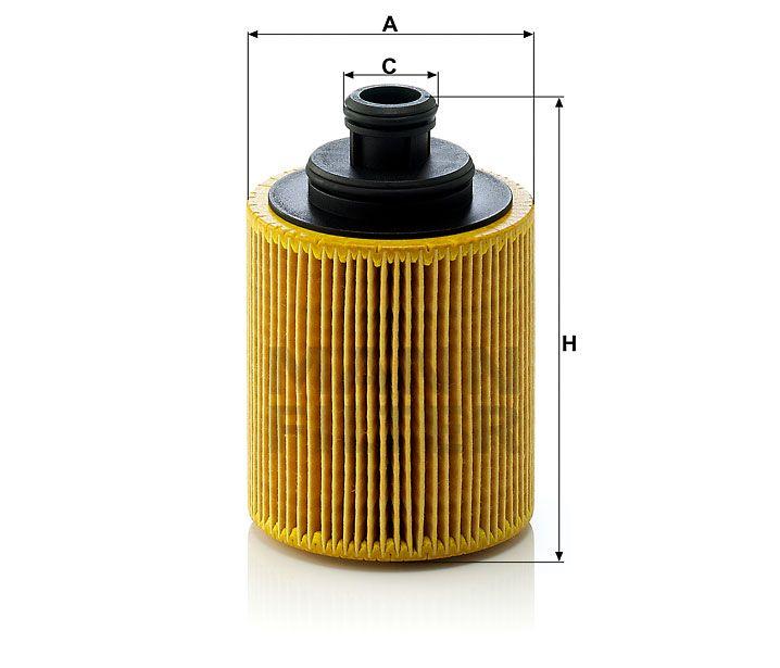 Olejový filtr Mann-Filter HU 712/7x