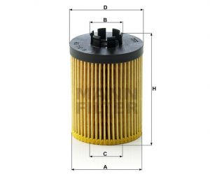 Olejový filtr Mann-Filter HU 712/8 x