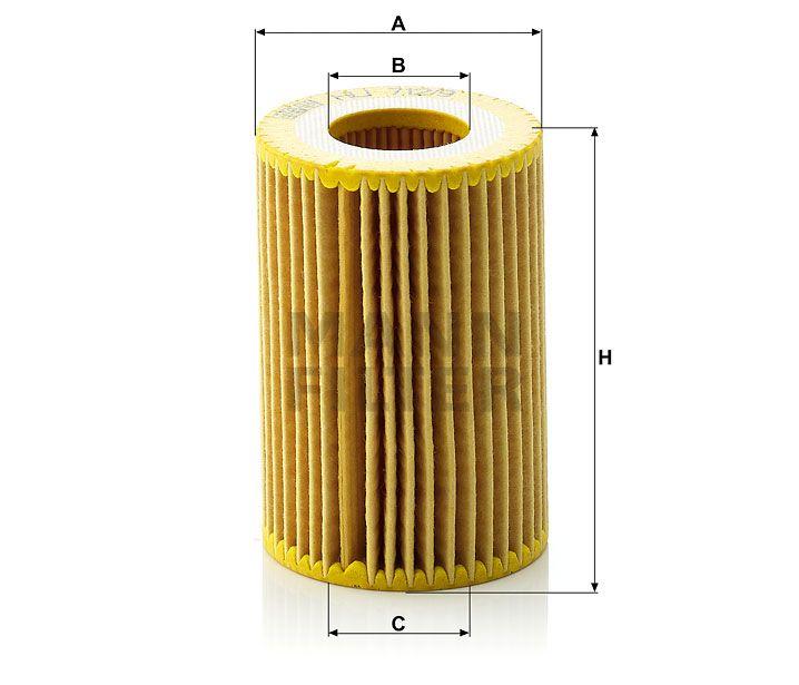 Olejový filtr Mann-Filter HU 712/9 x