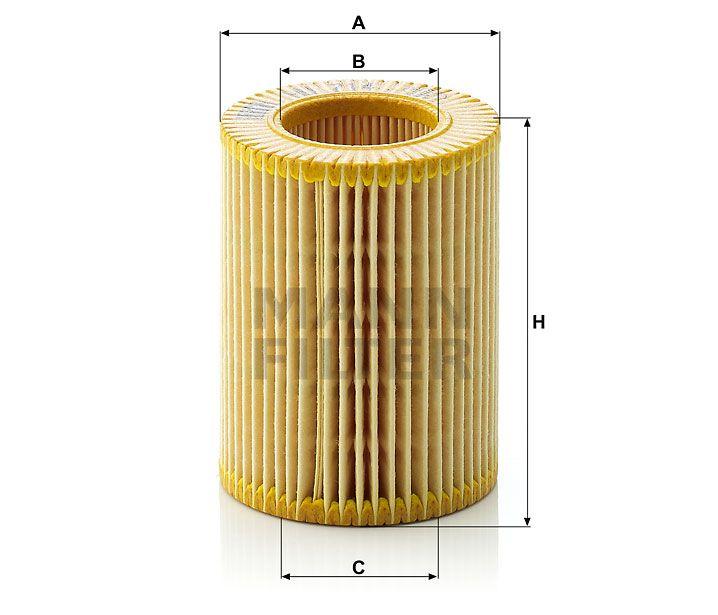 Olejový filtr Mann-Filter HU 714x