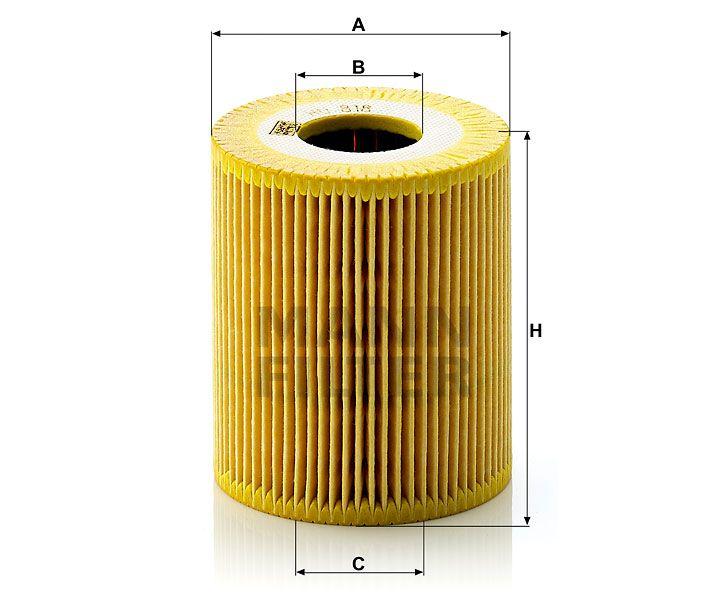 Olejový filtr Mann-Filter HU 818 x